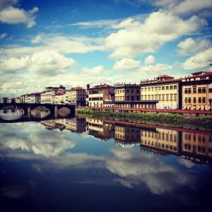 Lungarno Florence Bike tour