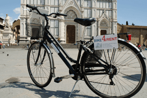 Bike to hire Florence Bike rental Florence
