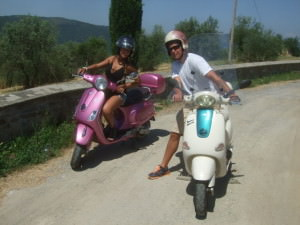 Florence Vespa tour Tuscany Day Tours