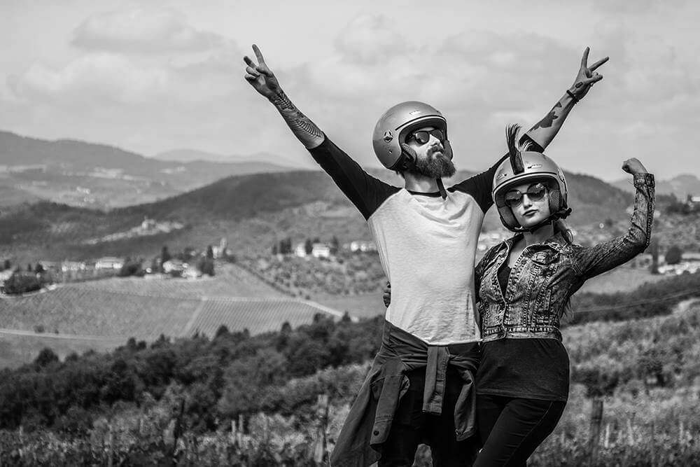 Tuscany Cycle Vespa Bike Tour in Florence Chianti