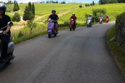 florence-vespa-tuscany-wine