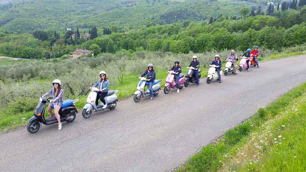 Fun In Tuscany Vespa Tour