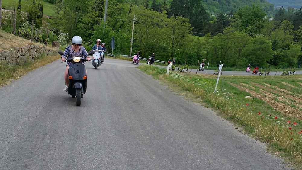 Tuscany Bike Or Vespa Tour