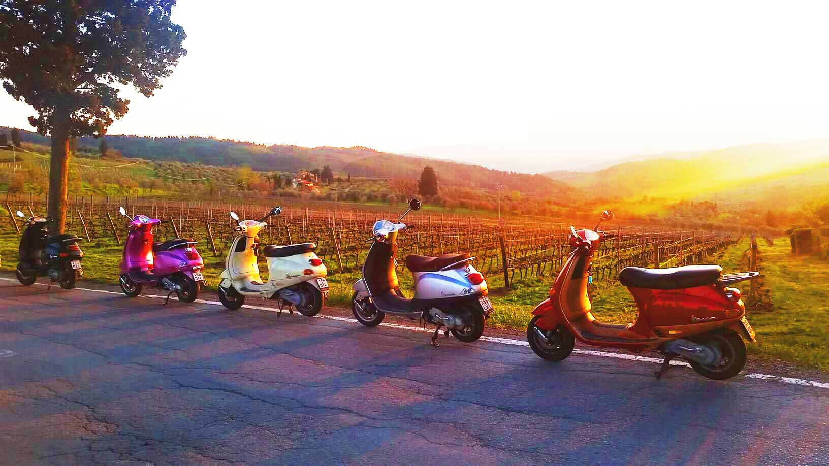 Sunset Vespa Tour